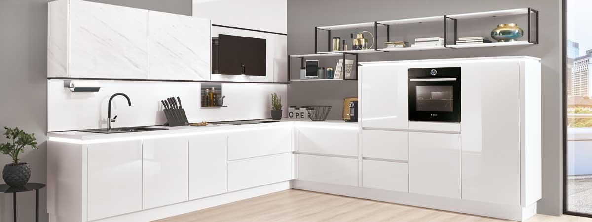 LINE N - grifflose Küchen - Elektro-Technik Niesky